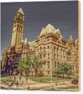 Toronto Old City Hall  Wood Print