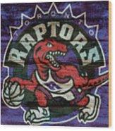 Toronto Raptors Barn Door Wood Print
