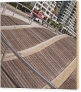 Toronto's Harbourfront Wood Print