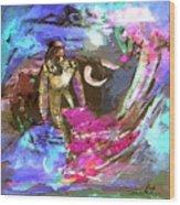 Toroscape 07 Wood Print