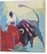 Toroscape 33 Wood Print