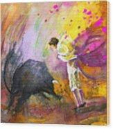 Toroscape 54 Wood Print