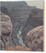 Toroweap Overlook Grand Canyon North Rim Wood Print