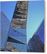 Torre Mare Nostrum - Torre Gas Natural Wood Print by Juergen Weiss