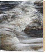 Water Flow 2 Wood Print