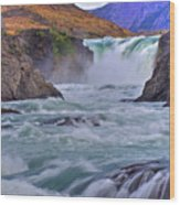 Torres Del Paine 001 Wood Print