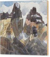Torres Del Paine, Chile Wood Print