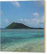 Tortola Waters Wood Print
