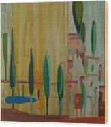 Toscana Cinque Terre Wood Print