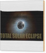 Total Solar Eclipse In Tennessee Map Outline Wood Print