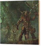 Total War Warhammer Wood Print