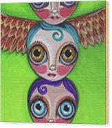 Totem Dolls Wood Print