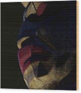 Totem Sentinel Wood Print by Barbara  White