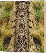 Toto Totum Wood Print
