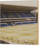 Tottenham - White Hart Lane - West Stand 2 - 1980s Wood Print