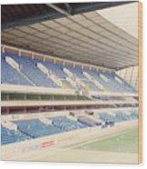 Tottenham - White Hart Lane - West Stand 4 - April 1991 Wood Print
