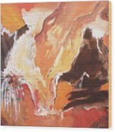 Touch Of Dreams Wood Print
