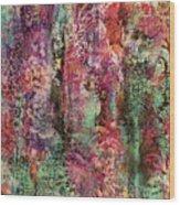 Touch Of Velvet Wood Print