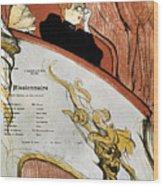 Toulouse-lautrec, 1893 Wood Print