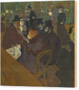 Toulouse-lautrec Moulin Rouge Wood Print