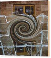 Tourbillon Polaire II / Polar Vortex II Wood Print