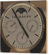 Tourneau Wood Print