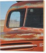 Tousled Ford 1945  Wood Print