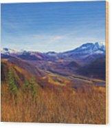 Toutle River Wood Print