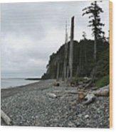 Tow Hill Haida Gwaii Bc Wood Print