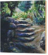 Toward The Light Wood Print