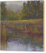 Towards Ticonderoga Wood Print