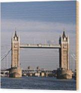 Tower Bridge - London, England Wood Print