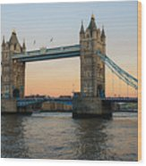 Tower Bridge 2 Wood Print