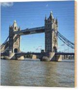 Tower Bridge 3 Wood Print