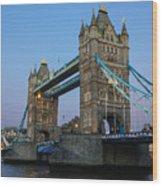 Tower Bridge 5 Wood Print