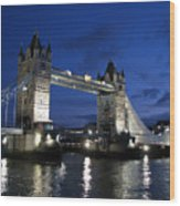Tower Bridge Wood Print