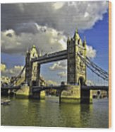 Tower Bridge I Wood Print