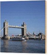 Tower Bridge, London Wood Print by Lothar Schulz