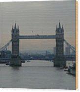 Tower Bridge, London Wood Print