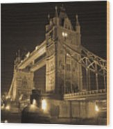 Tower Bridge Of London Wood Print