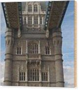 Tower Bridge Two Wood Print