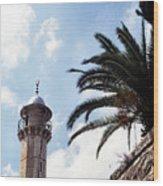 Tower In Jerusalem Wood Print