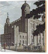 Tower Of London, 1799 Wood Print