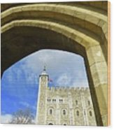 Tower Of London Wood Print
