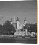 Tower Of London Riverside Wood Print by Gary Eason