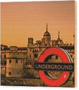 Tower Of London. Wood Print