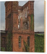 Tower Of Ruins Wood Print