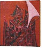 Tower Of Silence Wood Print