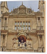 Tower Of The Five Orders Bodleian Library Oxford Wood Print