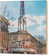 Tower Theater - Upper Darby Pa Wood Print